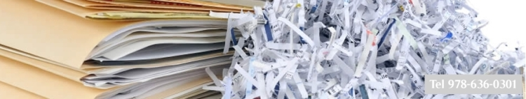 Residential document shredding service