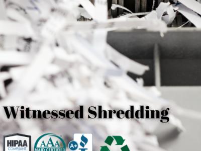 Witnessed Shredding Company